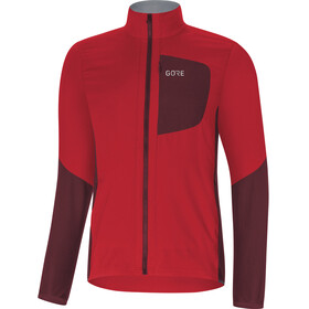 GORE WEAR C5 Windstopper Insulated Jacket Men red/chestnut red